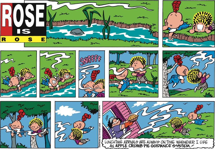 Rose is Rose Comic Strip for June 21, 2015
