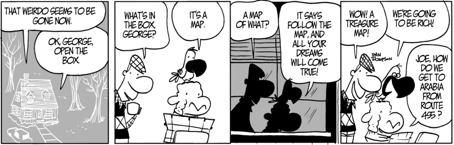 Lost Sheep Comic Strip for August 01, 2021