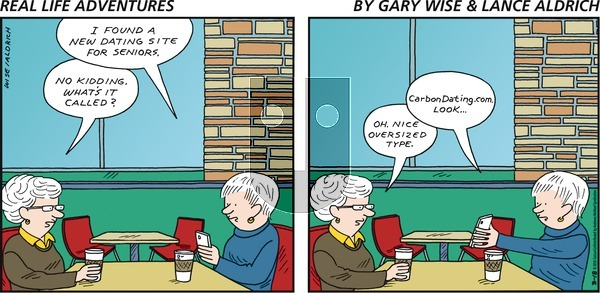 Real Life Adventures on Sunday March 18, 2018 Comic Strip