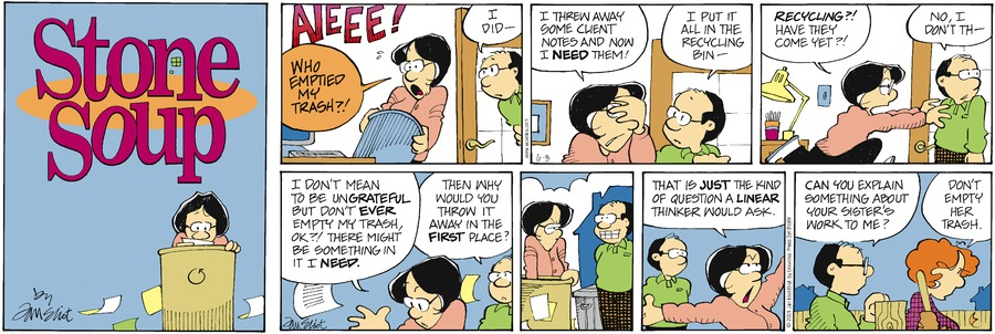 Stone Soup Classics Comic Strip for April 04, 2021