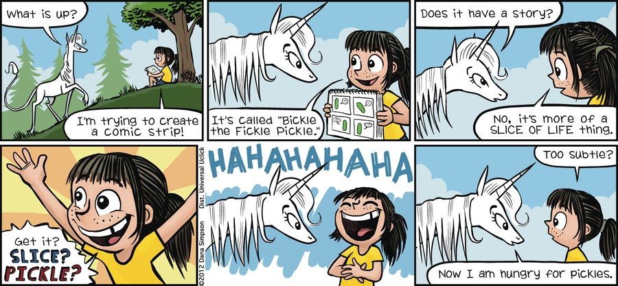 Phoebe and Her Unicorn for Jun 24, 2012 Comic Strip