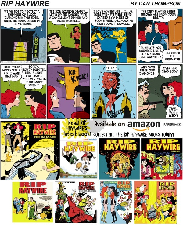 Rip Haywire on Sunday June 30, 2019 Comic Strip
