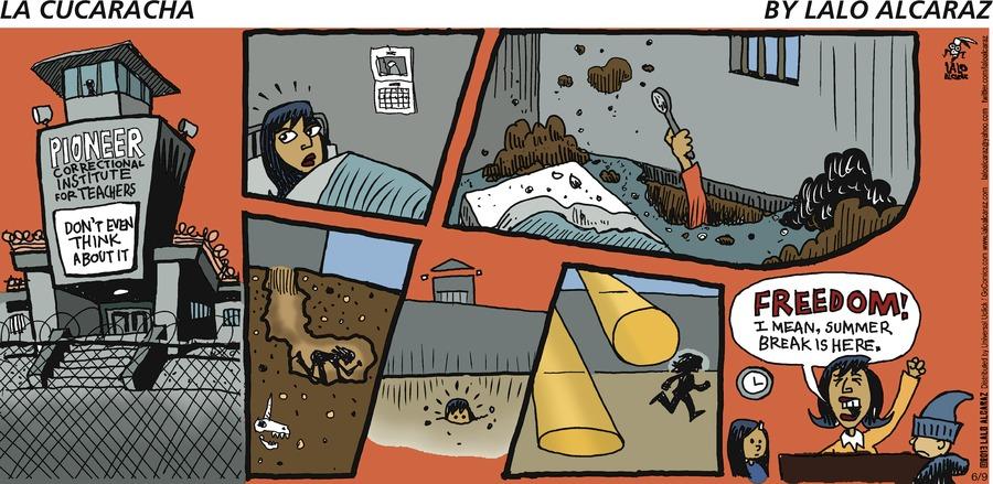 La Cucaracha for Jun 9, 2013 Comic Strip