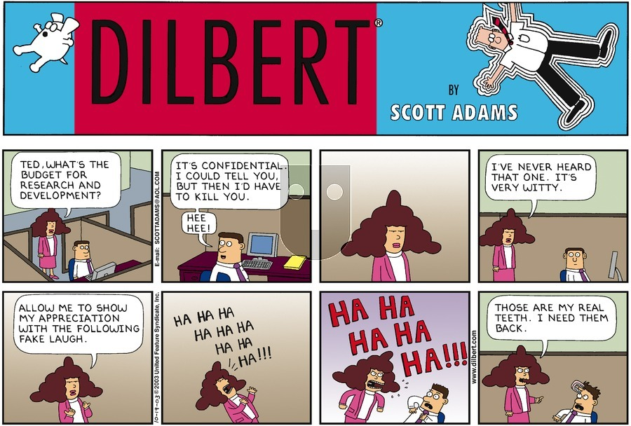 Purchase Comic Strip for 2003-10-19