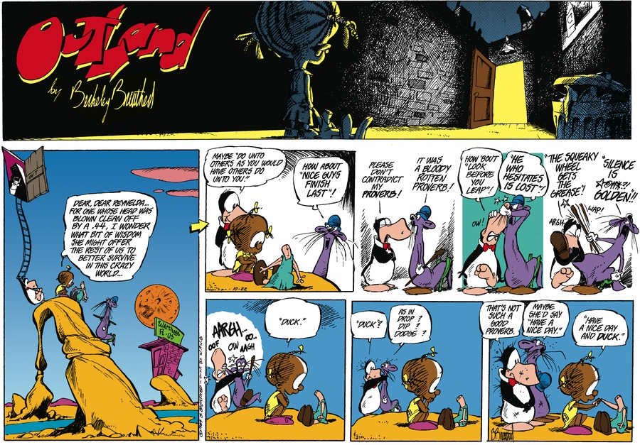 Outland Comic Strip for December 02, 2019