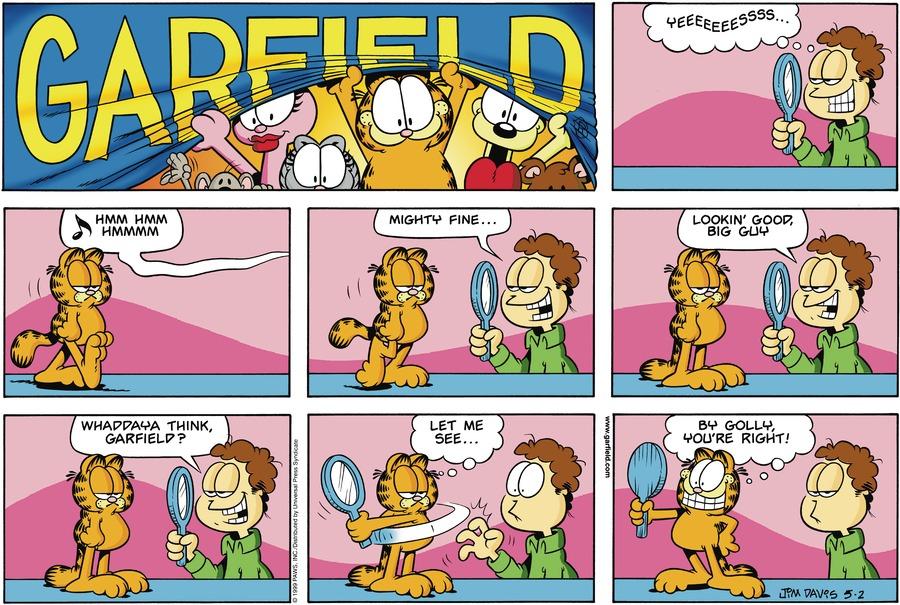 Garfield Comic Strip for May 02, 1999