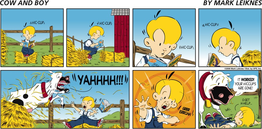 Cow and Boy Classics Comic Strip for May 07, 2006