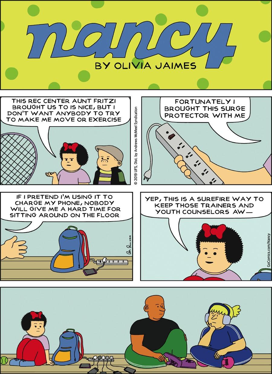 Nancy Comic Strip for June 23, 2019