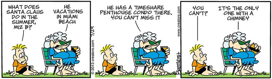 Diamond Lil Comic Strip for July 29, 2013