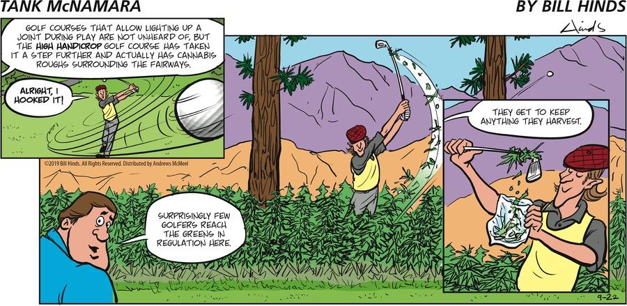 Tank McNamara Comic Strip for September 22, 2019