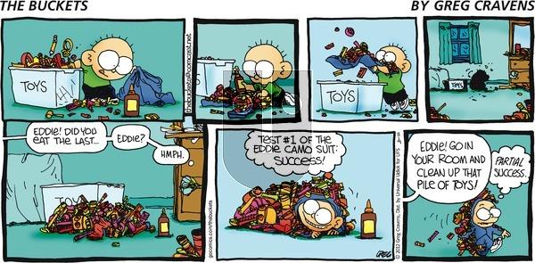 The Buckets on Sunday November 4, 2012 Comic Strip
