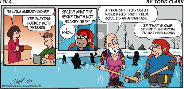 Lola on Sunday January 13, 2019 Comic Strip
