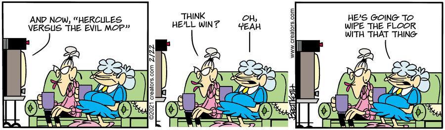 Diamond Lil Comic Strip for February 22, 2021