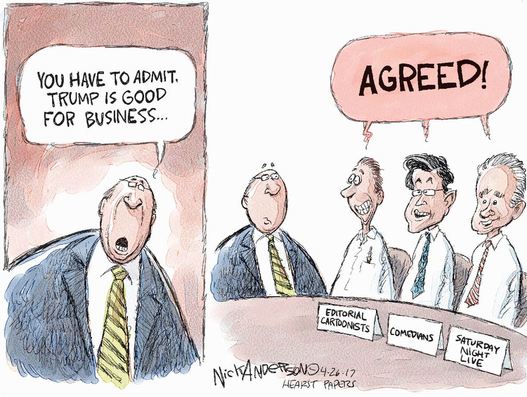 Nick Anderson Comic Strip for April 26, 2017