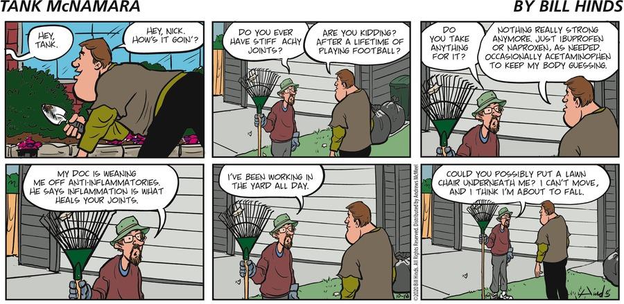 Tank McNamara Comic Strip for October 18, 2020