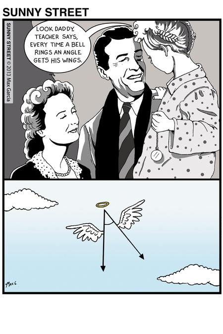 Sunny Street Comic Strip for December 18, 2013
