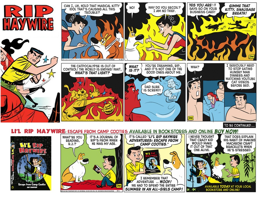 Rip Haywire Comic Strip for February 19, 2017