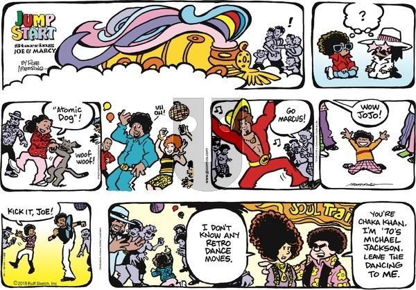 JumpStart on Sunday May 20, 2018 Comic Strip