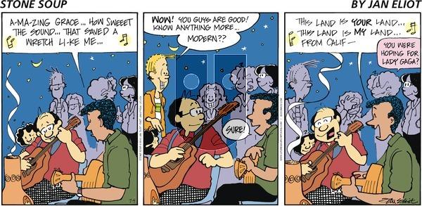 Stone Soup on Sunday July 4, 2010 Comic Strip