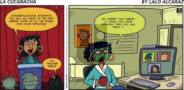 La Cucaracha - Sunday May 31, 2020 Comic Strip
