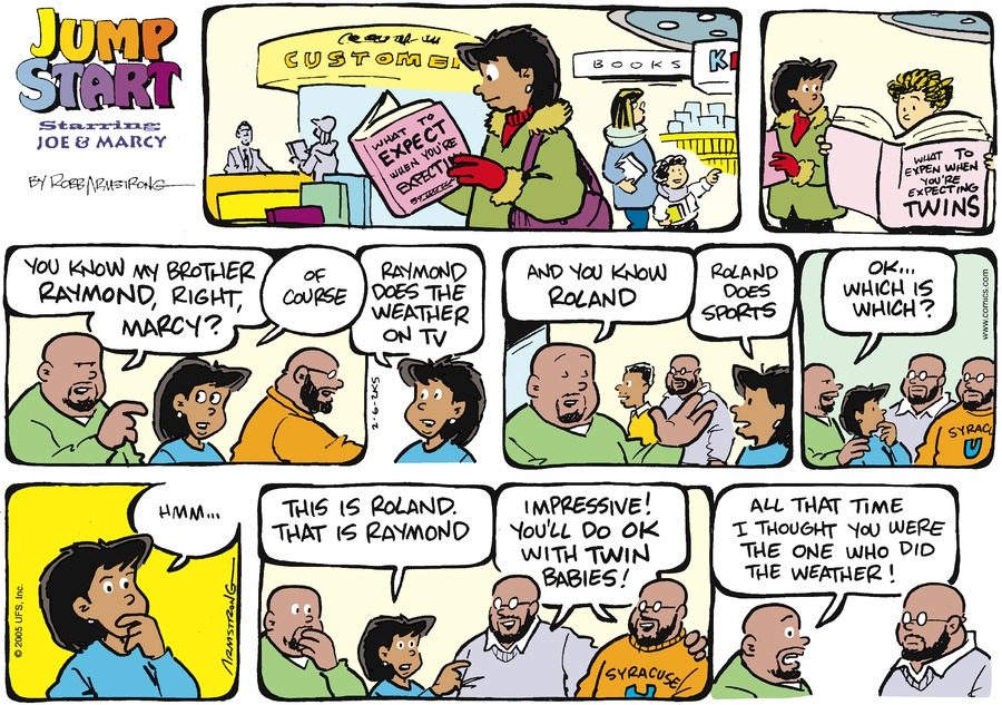 JumpStart for Feb 6, 2005 Comic Strip