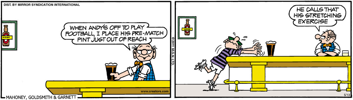 Andy Capp Comic Strip for May 13, 2011