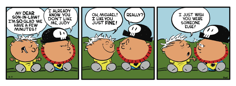 Pirate Mike Comic Strip for December 28, 2018