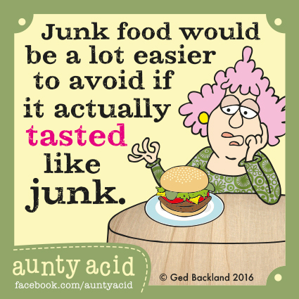 Aunty Acid for Jun 5, 2016 Comic Strip
