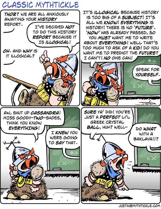 MythTickle for Jun 7, 2013 Comic Strip