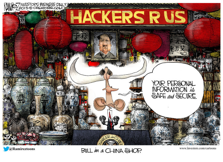 Michael Ramirez for Jun 25, 2015 Comic Strip