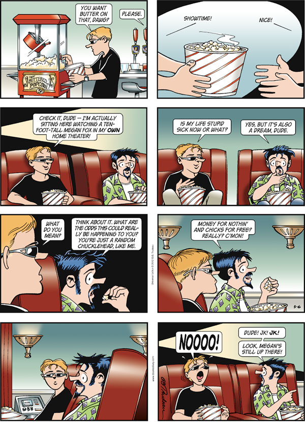 Collectible Print of doonesbury
