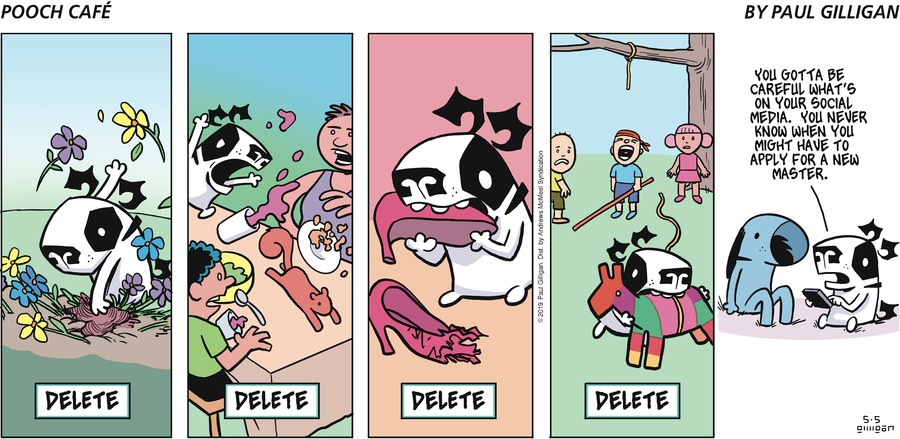 Pooch Cafe by Paul Gilligan for May 05, 2019