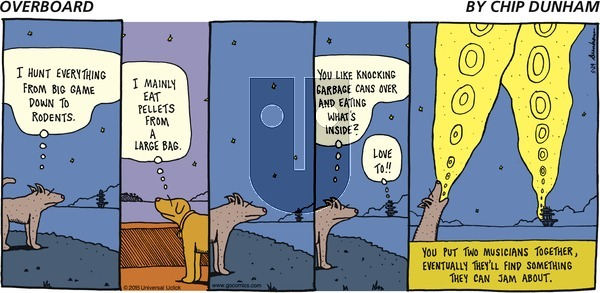 Overboard - Sunday May 24, 2015 Comic Strip