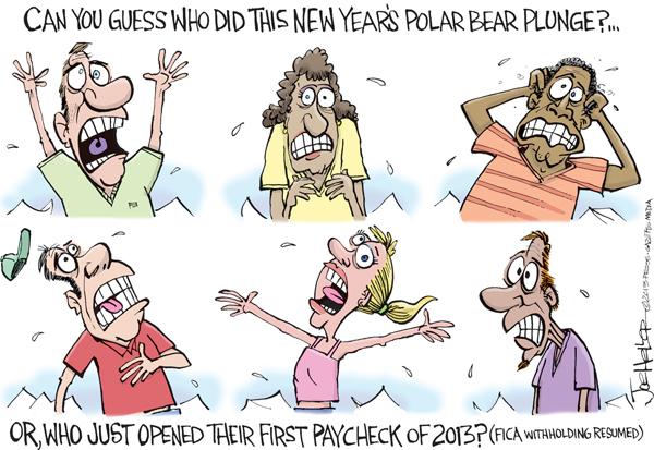 Joe Heller for Jan 8, 2013 Comic Strip