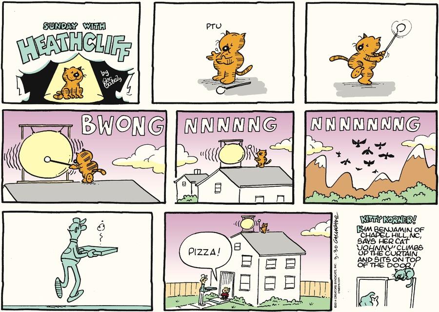 Heathcliff for Mar 30, 2014 Comic Strip