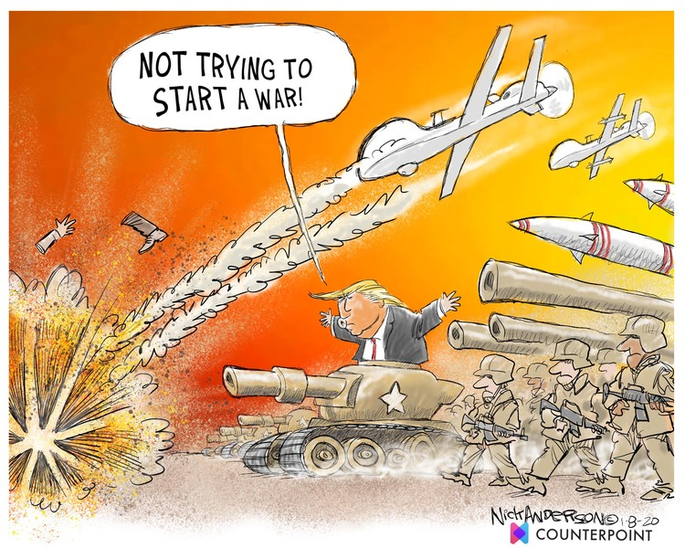Nick Anderson Comic Strip for January 08, 2020