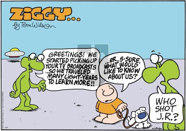 Ziggy on Sunday May 23, 2021 Comic Strip