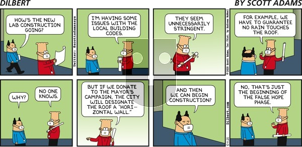 Dilbert on Sunday October 11, 2020 Comic Strip