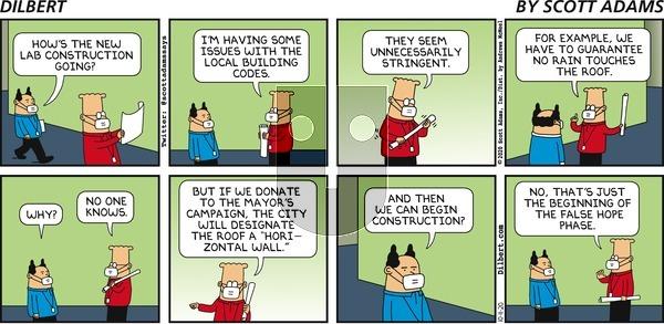Dilbert - Sunday October 11, 2020 Comic Strip