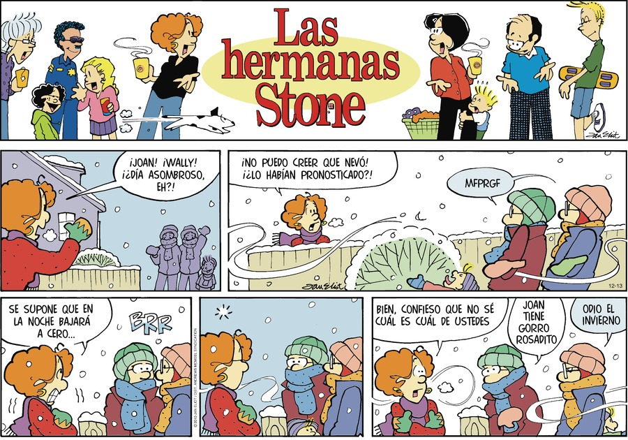 Las Hermanas Stone by Jan Eliot on Sun, 13 Dec 2020
