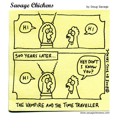 Time Traveller: Hi