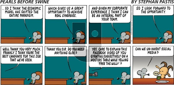 Pearls Before Swine on Sunday February 2, 2020 Comic Strip