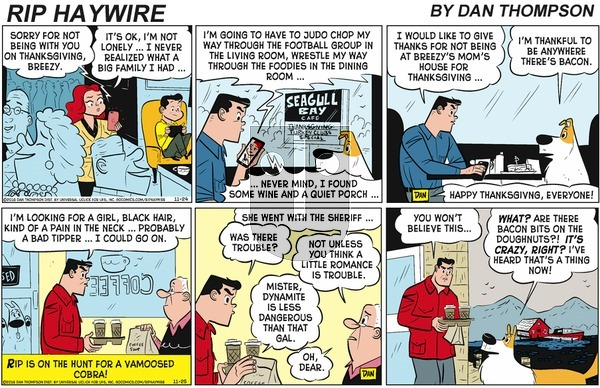 Rip Haywire on Sunday January 26, 2020 Comic Strip