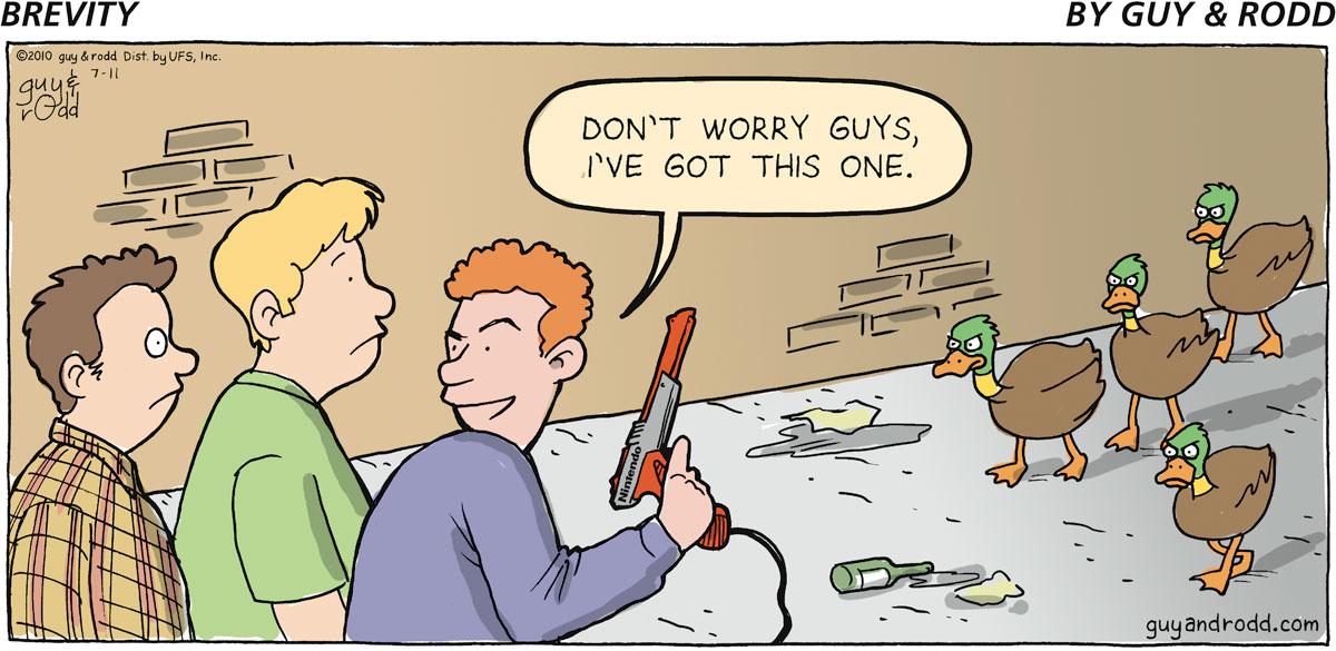 Brevity Comic Strip for July 11, 2010