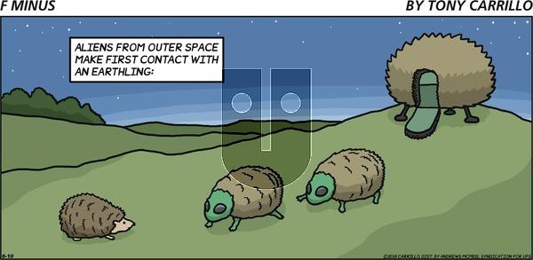 F Minus on Sunday June 10, 2018 Comic Strip