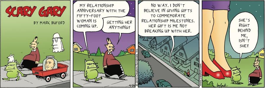 Scary Gary Comic Strip for September 29, 2019
