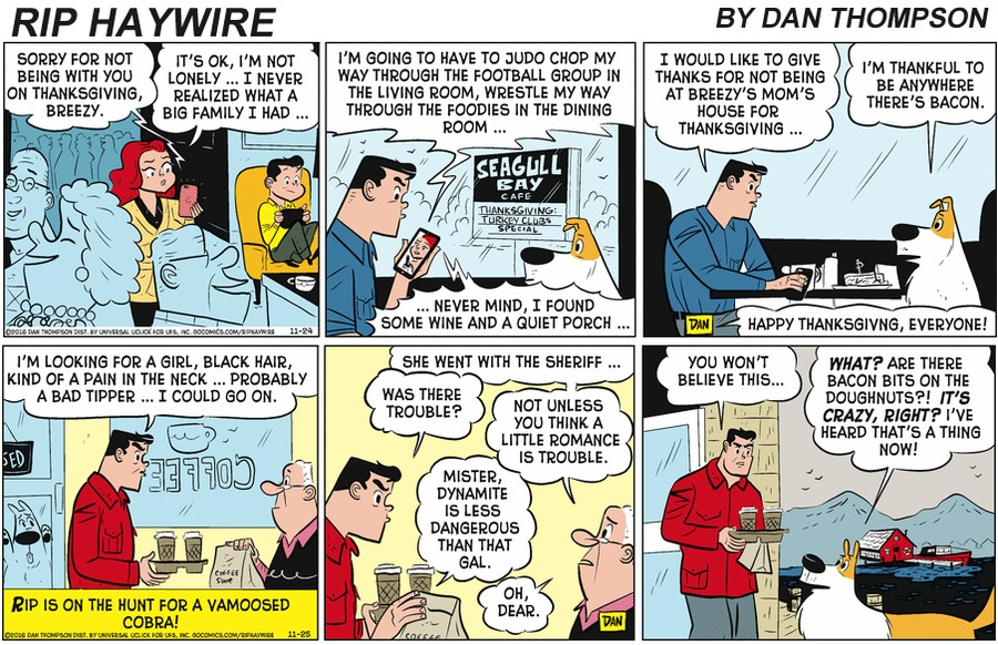 Rip Haywire Comic Strip for January 26, 2020