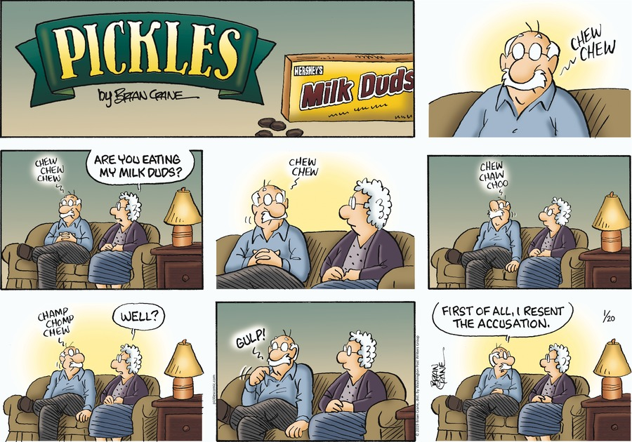 Pickles Comic Strip for January 20, 2019