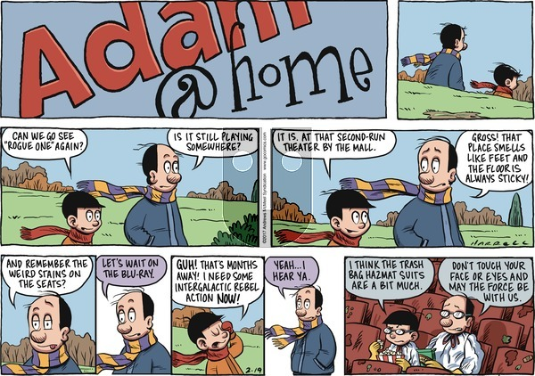 Adam@Home - Sunday February 19, 2017 Comic Strip