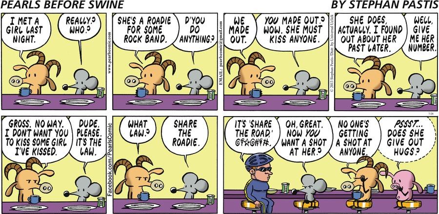 Pearls Before Swine Comic Strip for July 28, 2013